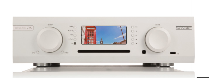 Musical Fidelity Announce Encore 225 All In One Player
