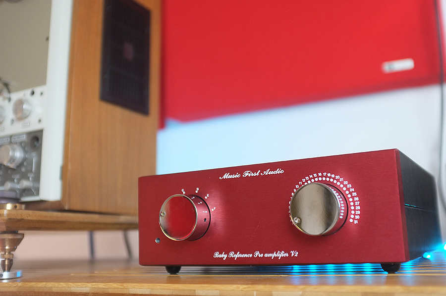 Music First Audio Baby Reference V2 TVC Preamplifier Review