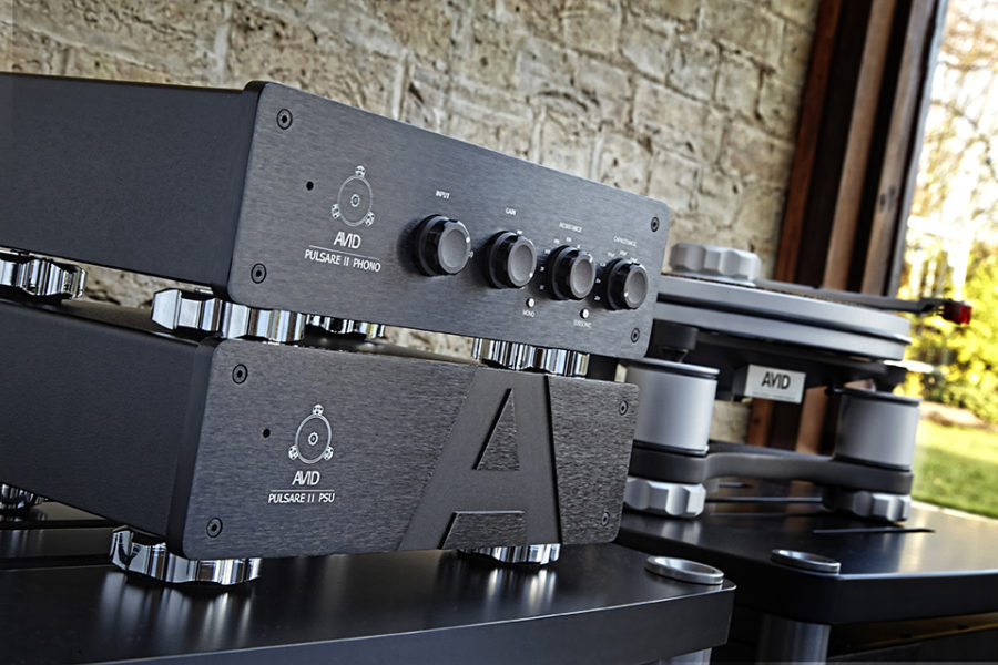 Avid phono stages and amps shot on location in house