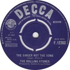 singernotthesong
