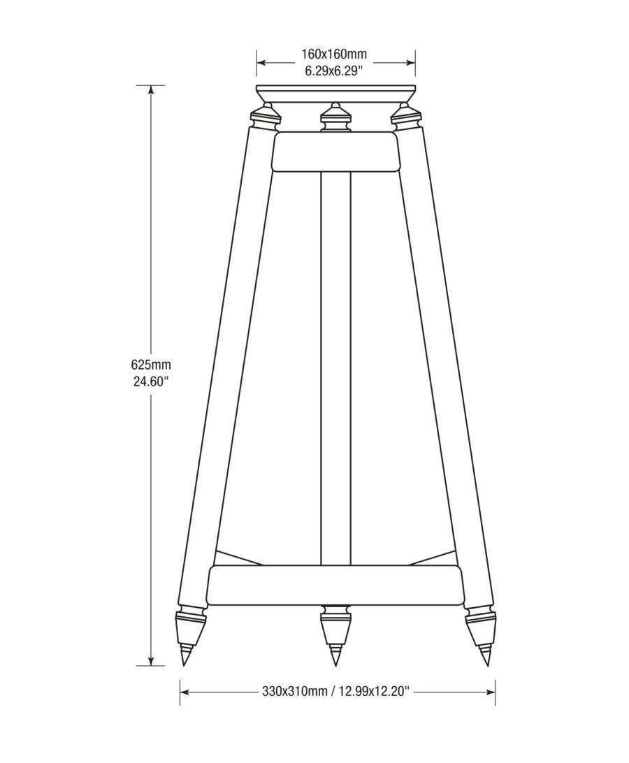 Solidsteel SS-6 Speaker Stands