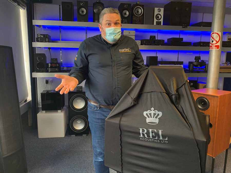 REL MYSTERY PRODUCTS EVENT AT MARTINS HIFI