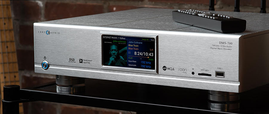 CARY AUDIO DMS-700 NETWORK AUDIO PLAYER NOW ROON READY