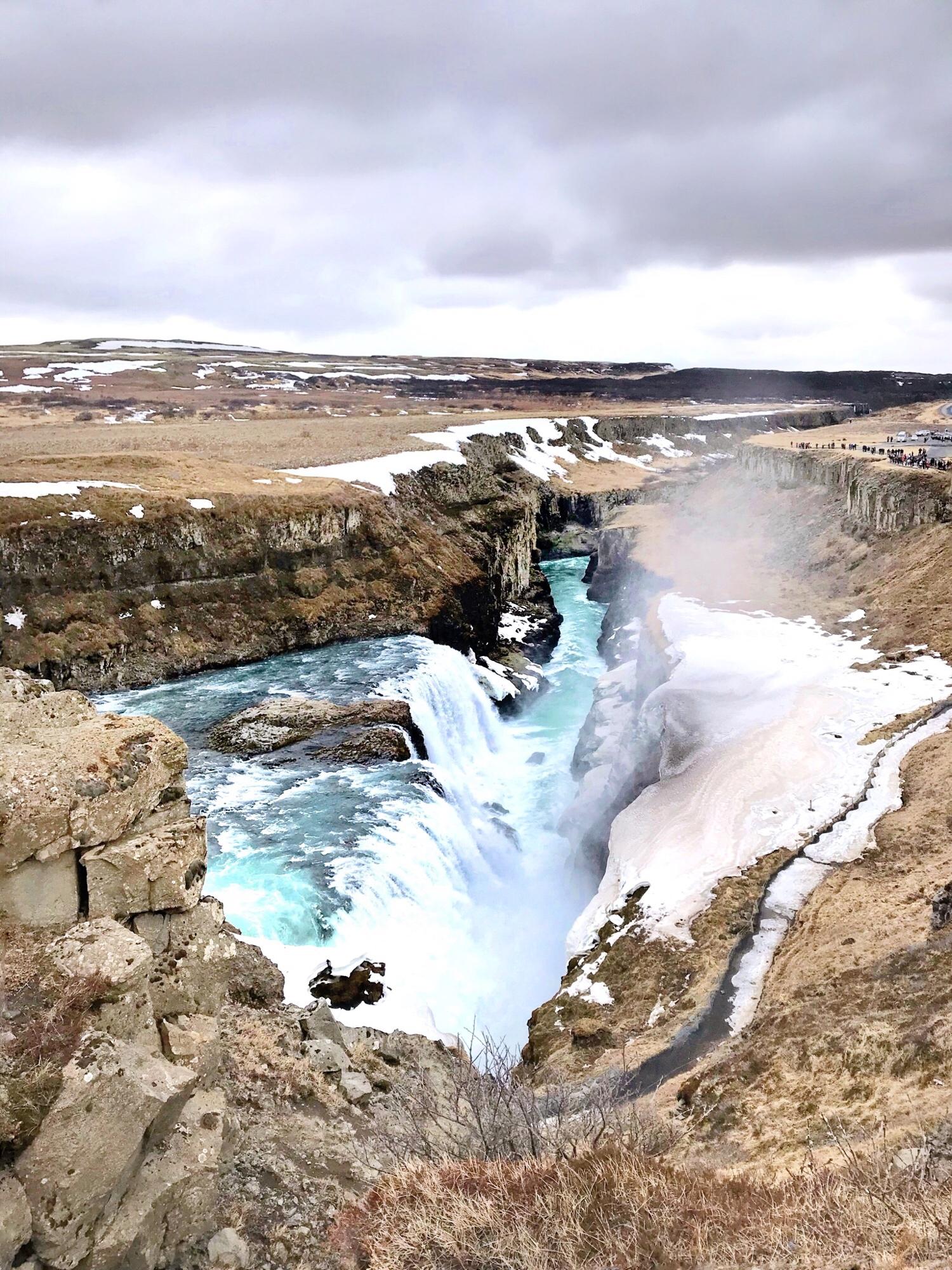 Iceland Guide - Gulfoss Waterfall