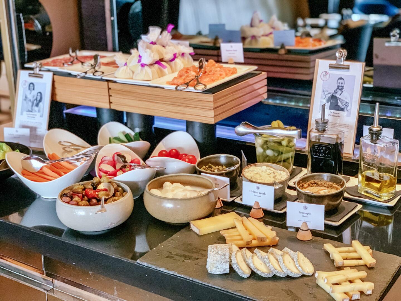 Hyatt Paris Madeleine brekfast at Cafe M