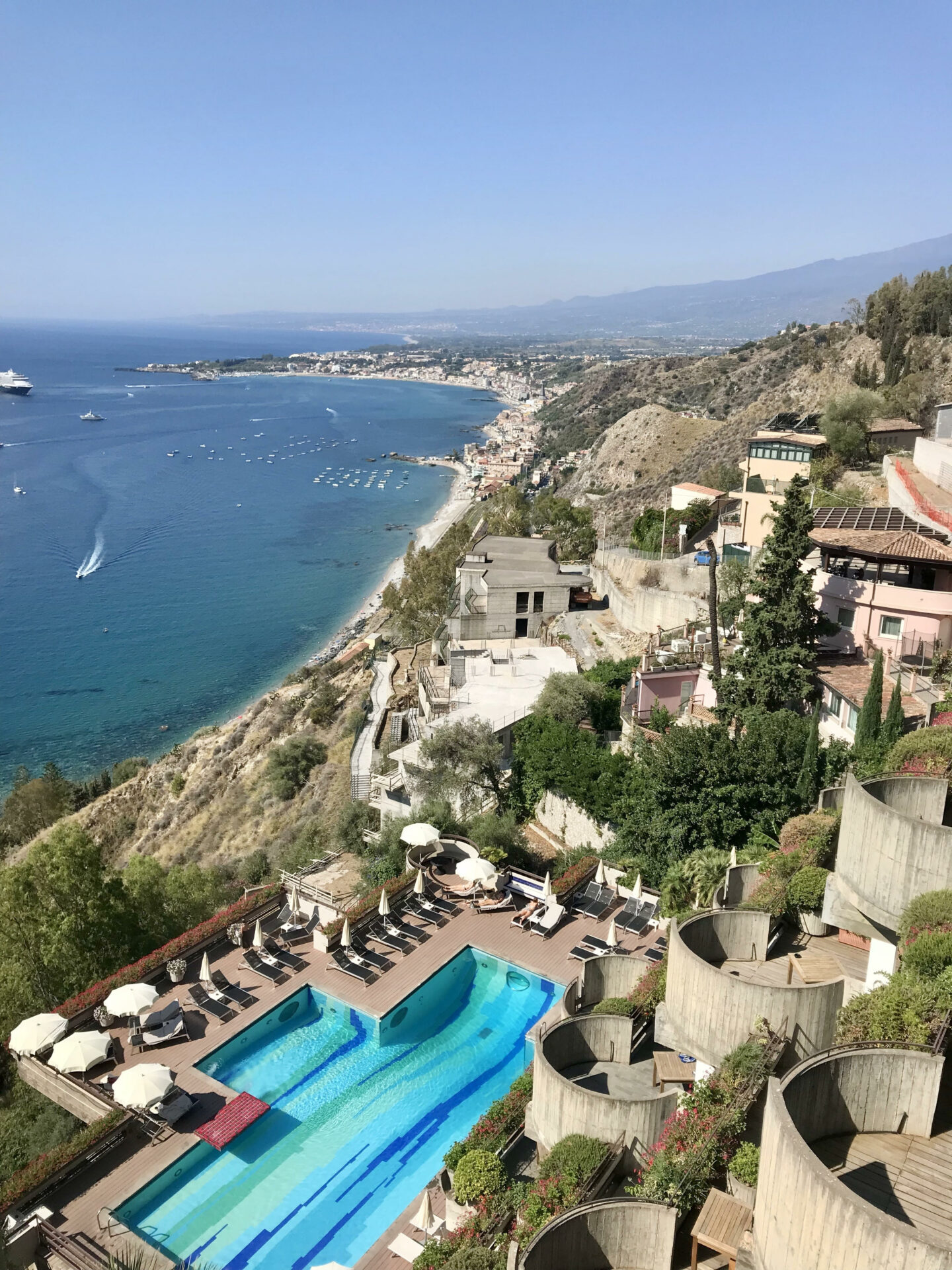 Eurostars Monte Tauro Hotel view