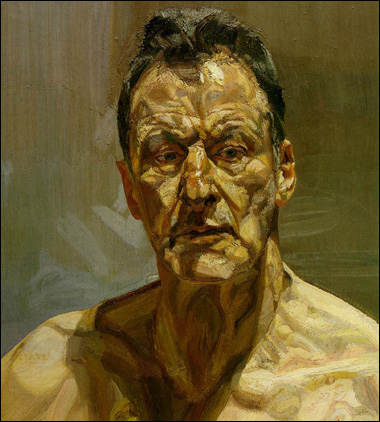 reflections self portrait bylucianfreud