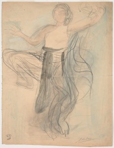 Auguste_Rodin_Cambodian_Dancer_1906