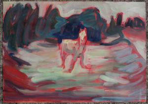 Night_grazer_M-Dorn_oil_sketch