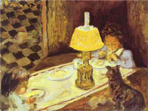 Pierre_Bonnard_1897 the-lunch-of-the-little-ones