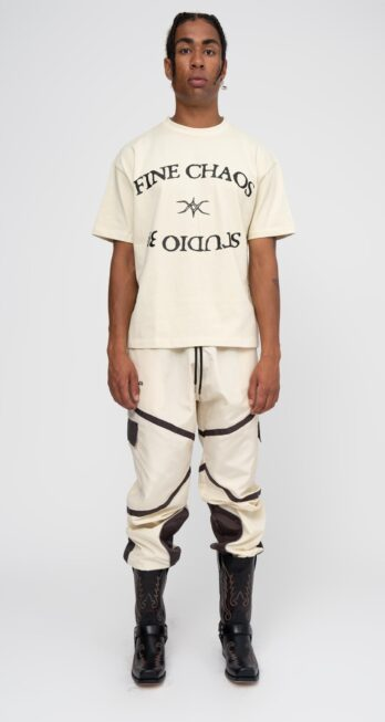 [LIMITED EDITION] FINE CHAOS X STUDIO 39 BEIGE WASHED TEE