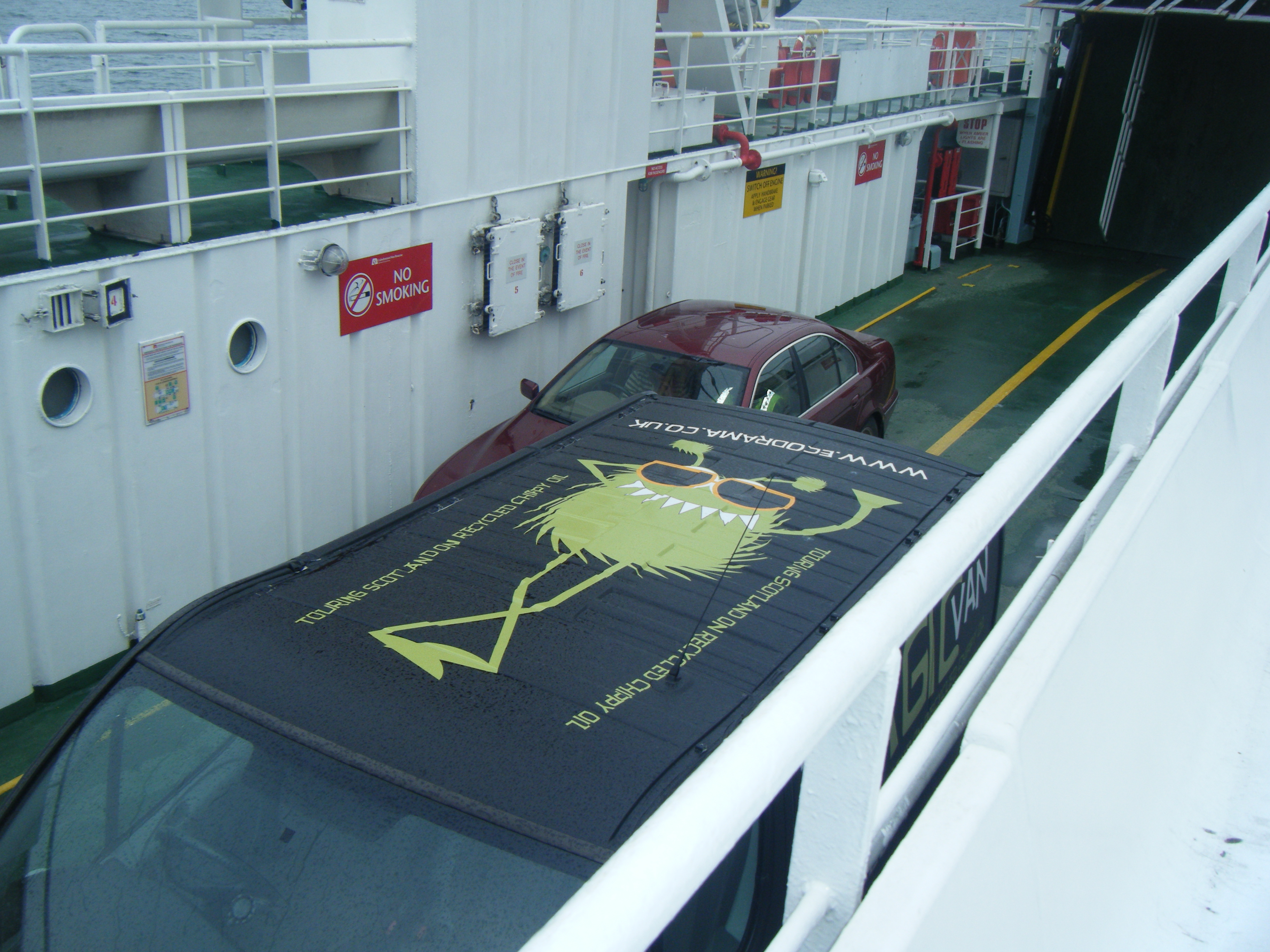 on the Gigha ferry