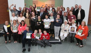 Evening Times Streets Ahead Awards 2016 at the People's Palace and Winter Gardens. Pictured are all the winners. Photograph by Colin Mearns 15 June 2016
