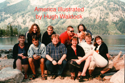 America Illustrated Sales; My story of my coast to coast trip across the US