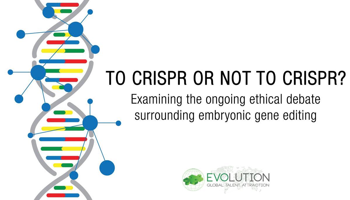 To CRISPR or not to CRISPR?
