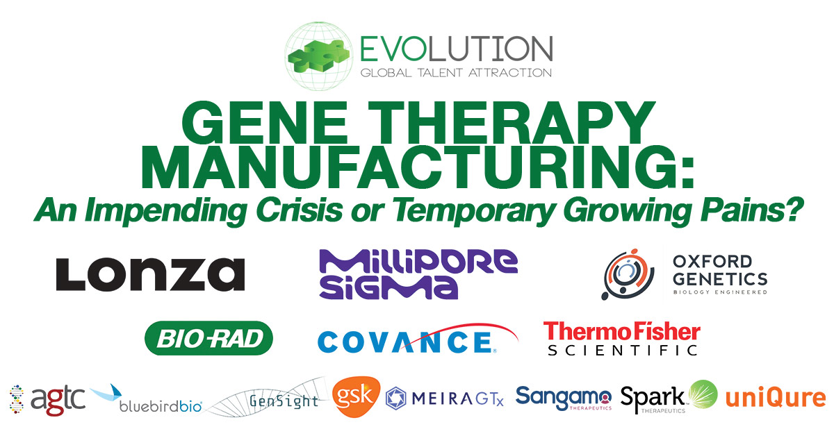 Gene Therapy Manufacturing: An Impending Crisis or Temporary Growing Pains?