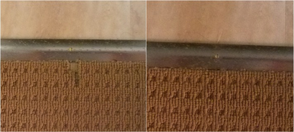 Vinyl Contractor Causes Pulled Threads