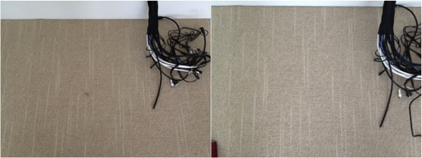 Repaired a Soldering Iron Burn in Carpet in Sydney