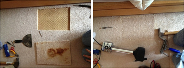 Chatswood NSW Carpet Repair of a Food Stain in the Carpet