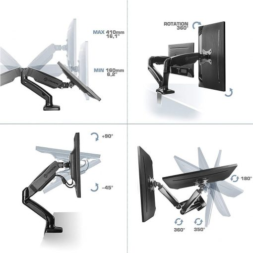 ONKRON Dual Monitor desk mount G160