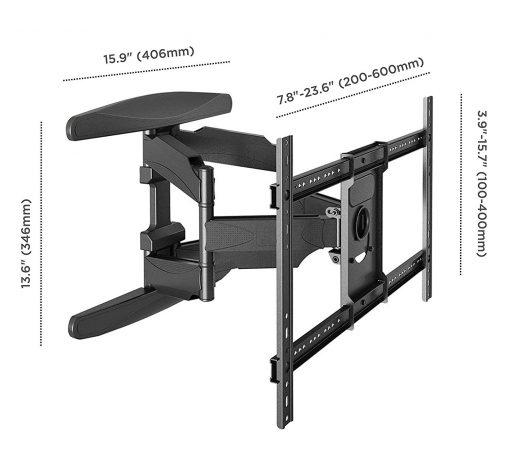 ONKRON Wall TV mount M6L-BLK