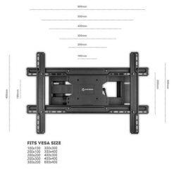 ONKRON TV wall mount M7L-BLK
