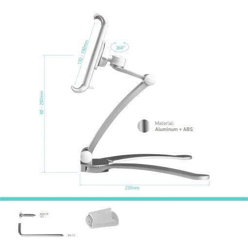 ds-01 phone holder specs