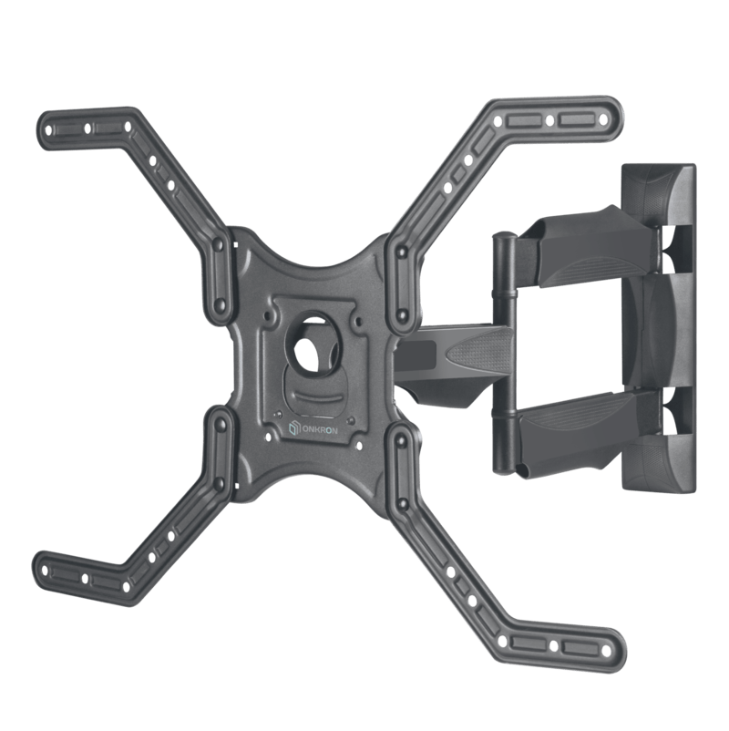 """ONKRON TV Wall Mount 32"""" – 70 Inch up to 77lbs M4L Black"""