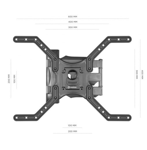 "ONKRON TV Wall Mount 32"" – 70 Inch up to 77lbs M4L Black"