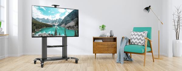 Onkron TS2811-BLK TV-Ständer Artikel Wie einen Fernseher in einer Wohnung sicher zu montieren und über die Lösungen von Fernseherbefestigung zu Hause in der Wohnung