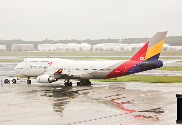 asiana air 747