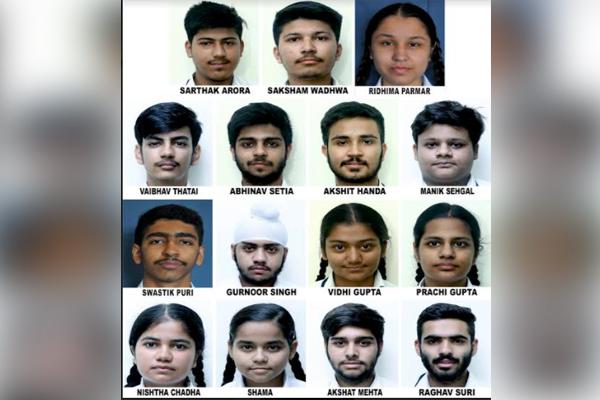 Innocent Hearts के विद्यार्थियों का JEE मेन्स में शानदार प्रदर्शन, सार्थक अरोड़ा ने हासिल किए 99.95 प्रतिशत अंक