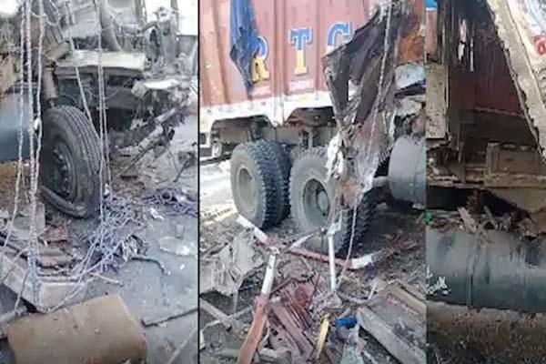 फिरोजपुर में दो ट्रकों की आमने-सामने भिड़ंत, एक चालक ने अस्पताल तो दूसरे ने मौके पर तोड़ा दम- पढ़ें हादसे का कारण