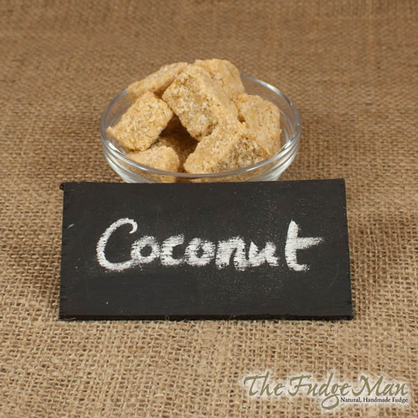 Toasted Coconut Fudge