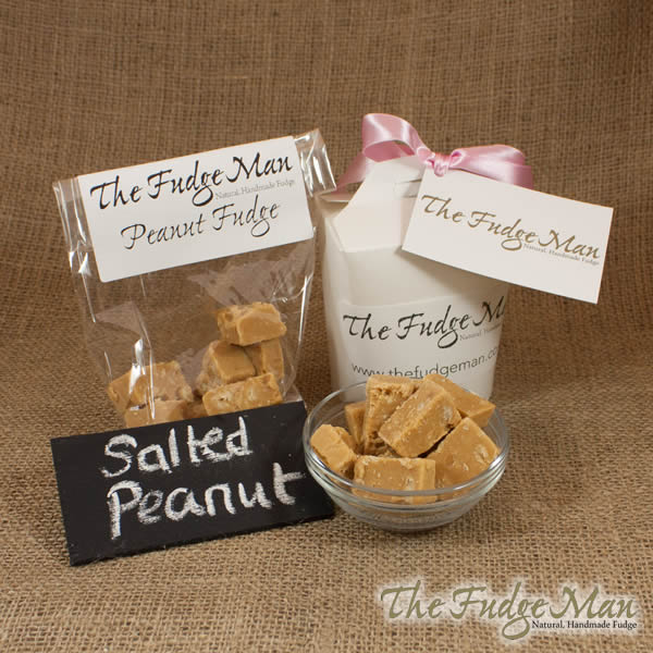 Salted Roasted Peanut Fudge