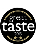 Great Taste Award 2013 Two Star Winner
