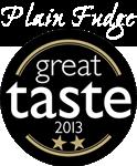 Great Taste Award 2013 Two Star Winner