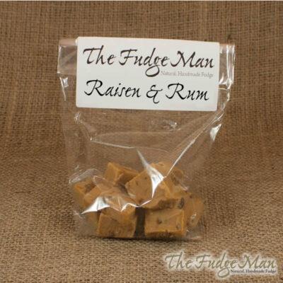 Raisin & Rum Fudge