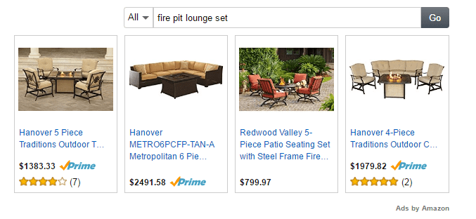ads by Amazon