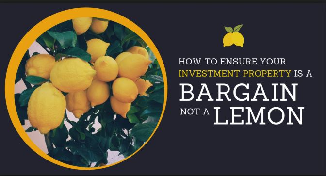 What do you do if you feel you've bought a property that's a lemon?