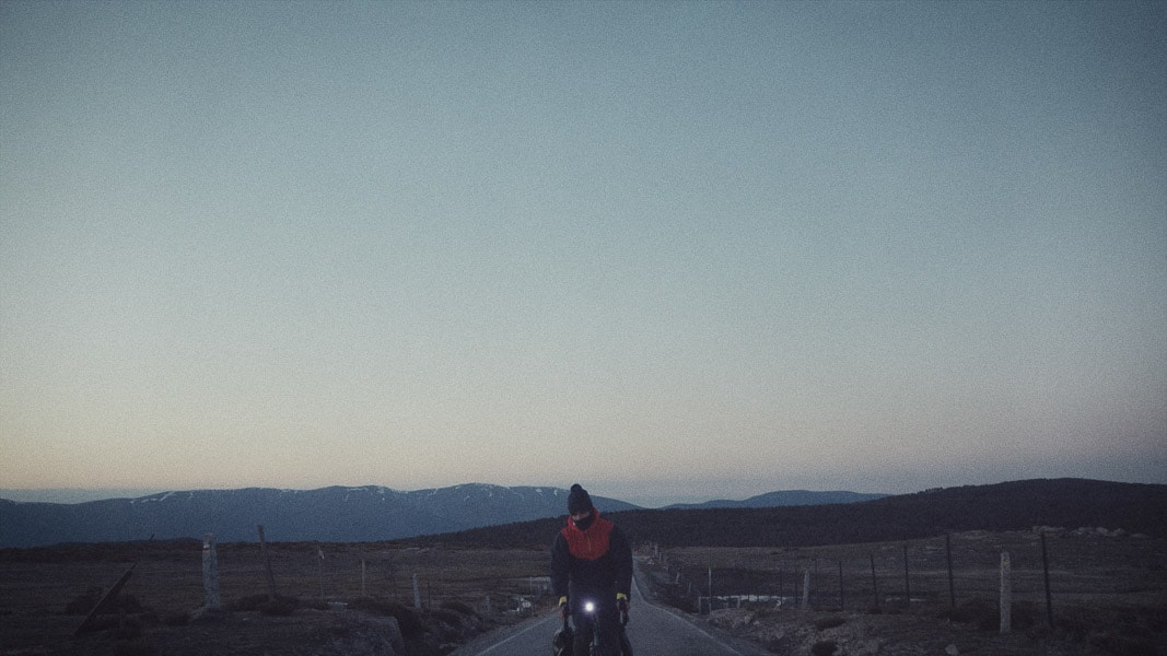 En bici por alaska
