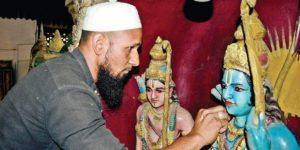 Muslim man's love for Lord Rama