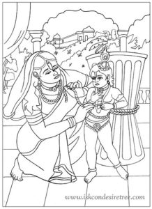 Damodar Lila: Why Yashoda punishes Krishna, the Supreme Lord