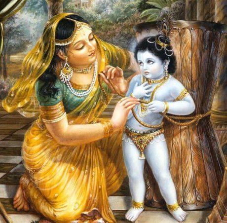 Damodara Lila: Why Yashoda punishes Krishna?