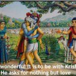 Brihad-bhagavatamrita tells the journey of Gopa Kumara to Goloka Vrindavan