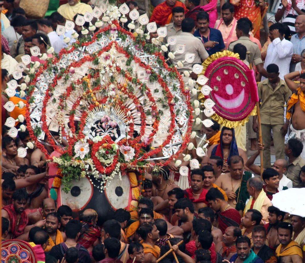 Lord Jagannath festival at Puri