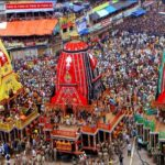When was the first Rath Yatra festival celebrated?