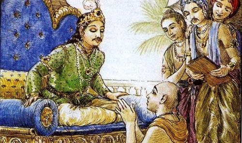Vidyapati informs Indradumya about Nila Madhava