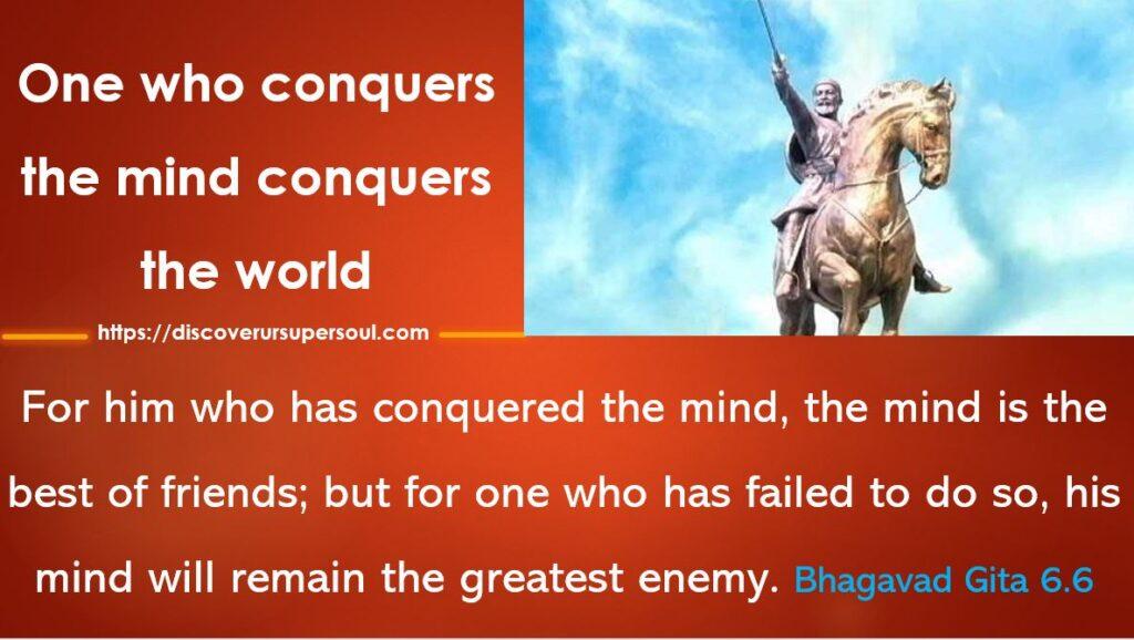 Controlling the mind as per Bhagavad Gita