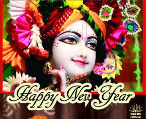 How devotees of Krishna celebrate New Year?
